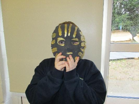 Egyptian death mask